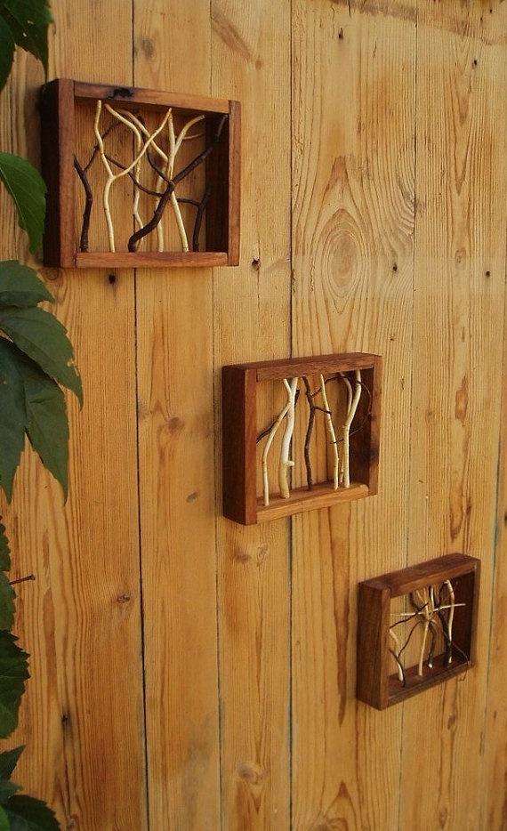 Lovely driftwood art.