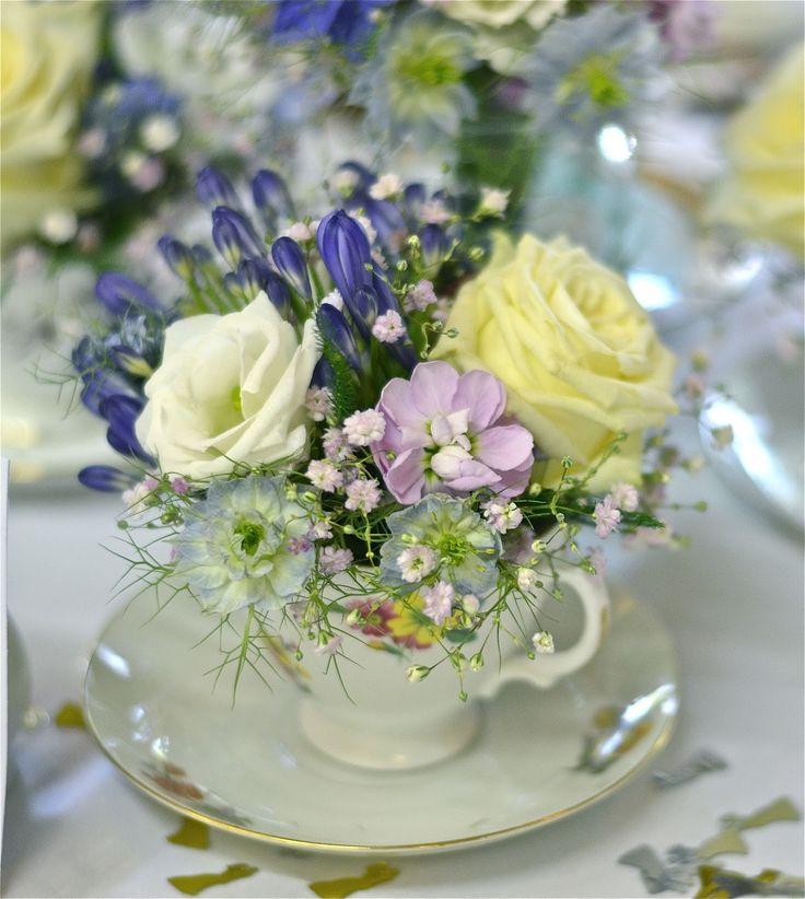 Wedding Flowers Blog: Laura's Vintage, English Country Garden Wedding Flowers, Marwell Hotel