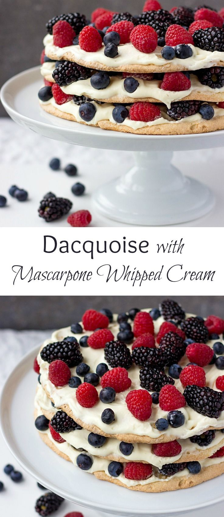 You've got to try Dacquoise Recipe. This cake is a pure deliciousness. Crispy, almondy and absolutely mouthwatering! It's a crowd-pleasing dessert.