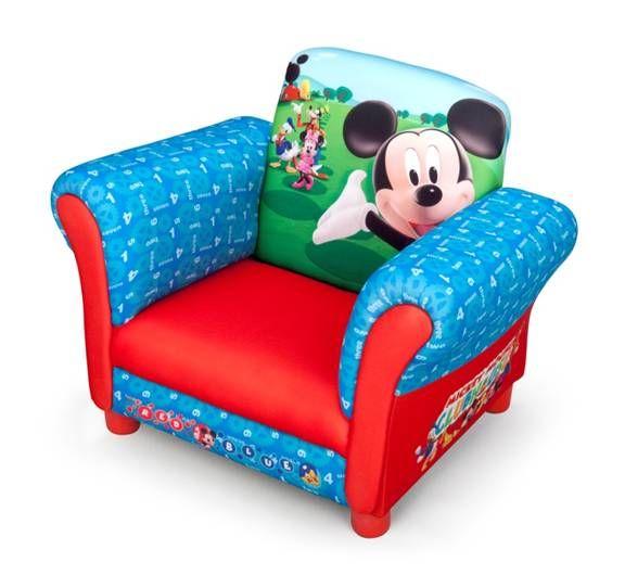 Sillón Mickey de 1 plaza. 12TC83939MM. Licencia original Disney, IndalChess.com Tienda de juguetes online y juegos de jardin