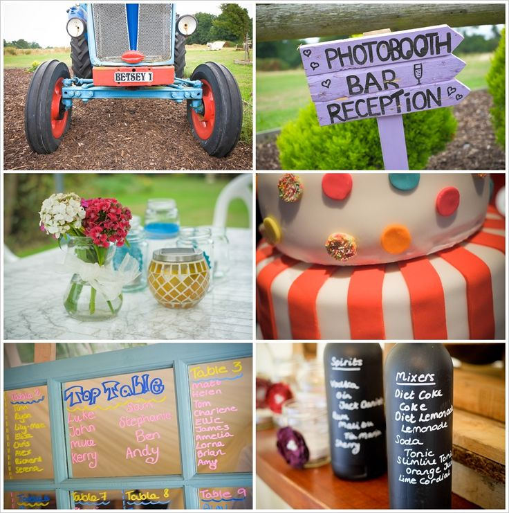 Some details from Sam and Luke's vintage styled wedding at Taplin's Place.