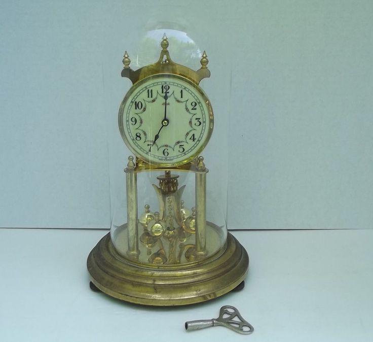 Vintage Kundo 400 Day Anniversary Clock Kieninger And