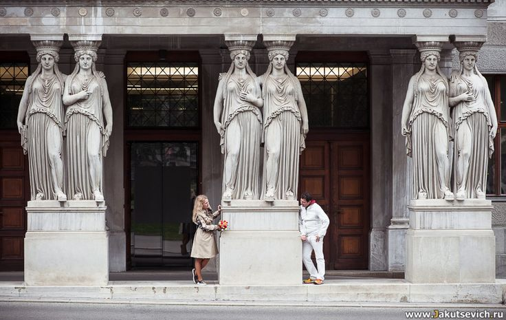Красивая Love Story фотосессия в Вене. Фотограф Артур Якуцевич