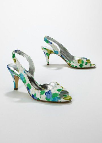 Wedding & Bridesmaid Shoes Floral Print Slingback Peep Toe with Rosette Blue... David's Bridal,http://www.amazon.com/dp/B0050CDG3G/ref=cm_sw_r_pi_dp_Tjjotb1S96ZFGT46