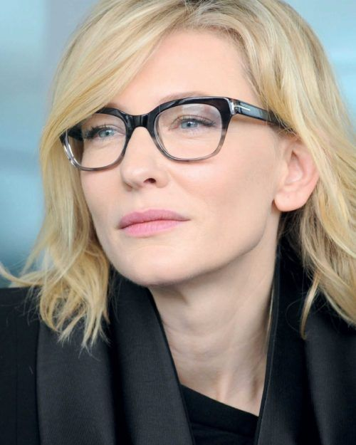 f405be5ac7d Cate Blanchett Shows Off Her Glasses Style
