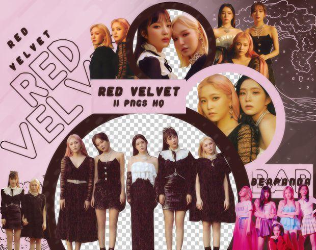Pack Png 2872 Red Velvet Trff By Beapanda Red Velvet Velvet Red