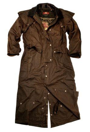 Australian oilskin jacket