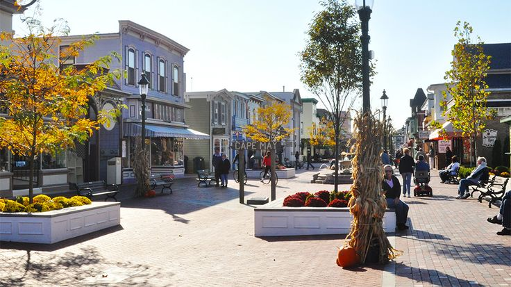 Cape May is great in the summer, but it's magical in the fall. Autumn is when monarch butterflies converge upon this beach town for a few charmed weeks during their migration. Stop for brunch at the Blue Pig Tavern in Congress Hall (a favorite spot for President Ulysses S. Grant) before doing some serious shopping along Washington Street or bike riding along Beach Avenue.