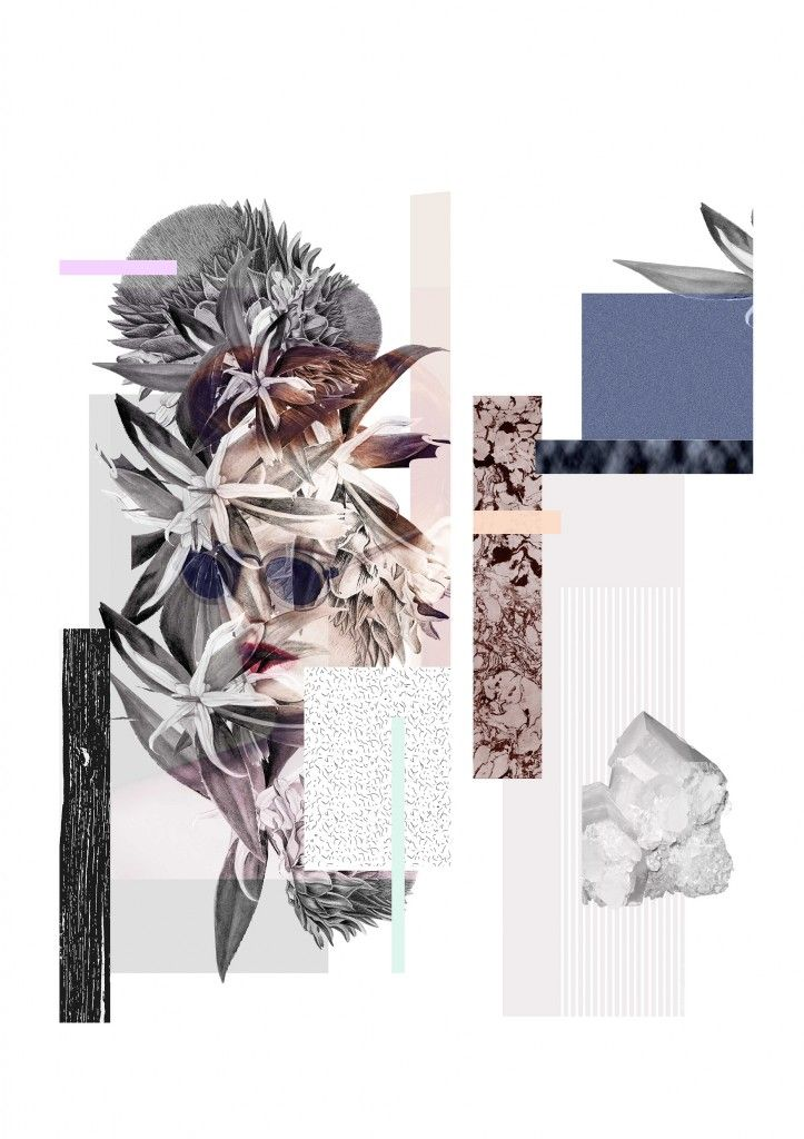 An ode to florals is a graduation project by Femke Hofhuis from the Academie Artemis in Amsterdam