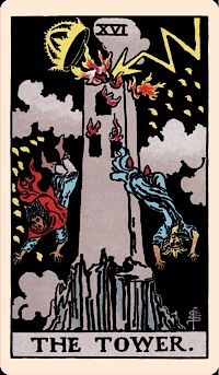 The Card of the Day: The Tower