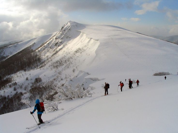 La route des Crêtes in the Vosges - ski de rando/ski touring/off piste skiing takes you up to some amazing places in the mountains. But you have to know what you are doing!