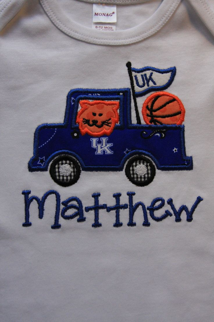 University of Kentucky Wildcats basketball truck. | Bella's Embroidery Onesies and T-Shirts ...