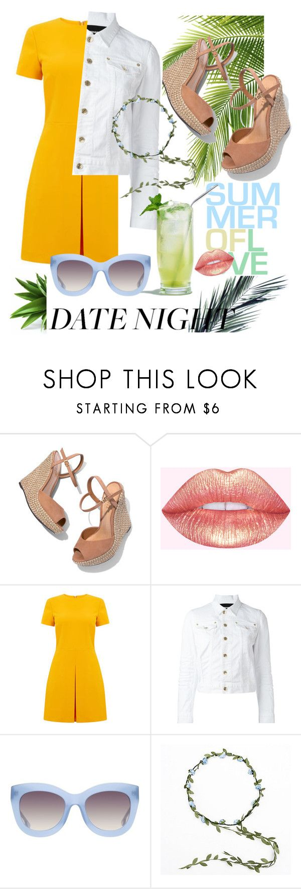 """""""Pop of Colour-Stand out"""" by mimison99 ❤ liked on Polyvore featuring Schutz, Warehouse, Dsquared2 and Alice + Olivia"""