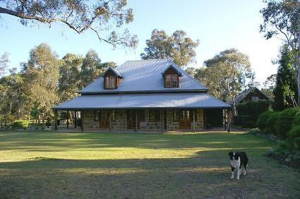 Australian style stone house
