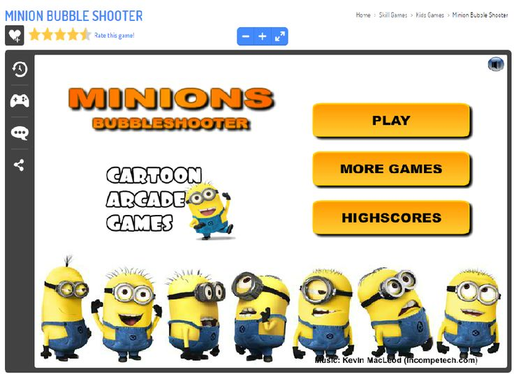 Play Minion Bubble Shooter Game. http://www.theanimationmovie.com/minion-bubble-shooter-game-play-online-free/