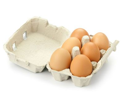 Eggs Your favorite breakfast food just got a little bit better! Eggs are rich in iron and biotin, which help keep your skin and hair healthy and full.