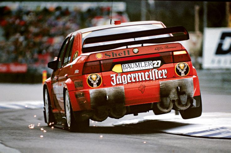 DTM, Michael Bartels im Alfa 155 V6 TI 1994.