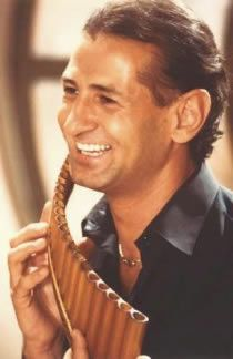 Gheorghe Zamfir. Panflute~He plays some of the most beautiful and haunting music I have ever heard.He puts His whole being into His playing.I love Him and His Music.