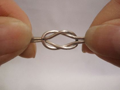 Wire Loveknot tutorial
