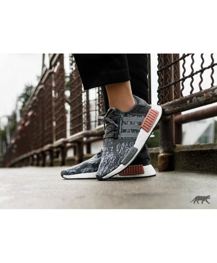 8fb226555e4ab Adidas Sale Nmd R1 W Grey Five Grey Three Raw Pink Trainers ...
