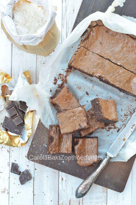 Opgepast: zeer smeuïge brownies! Absolute favoriet in ons gezin. Divine real American brownies. Favorite in our family.
