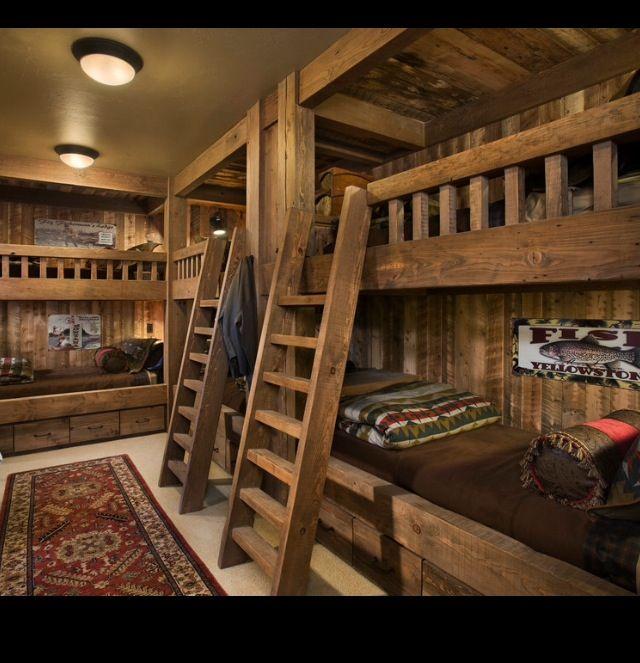 19 Log Cabin Home Décor Ideas: 19 Best Lodge Decorating Images On Pinterest
