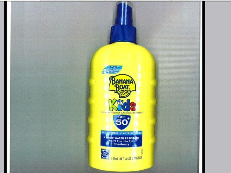 Banana boat sunscreen SPF 50+