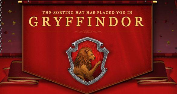 Quiz Result: Pottermore Sorting Hat Test