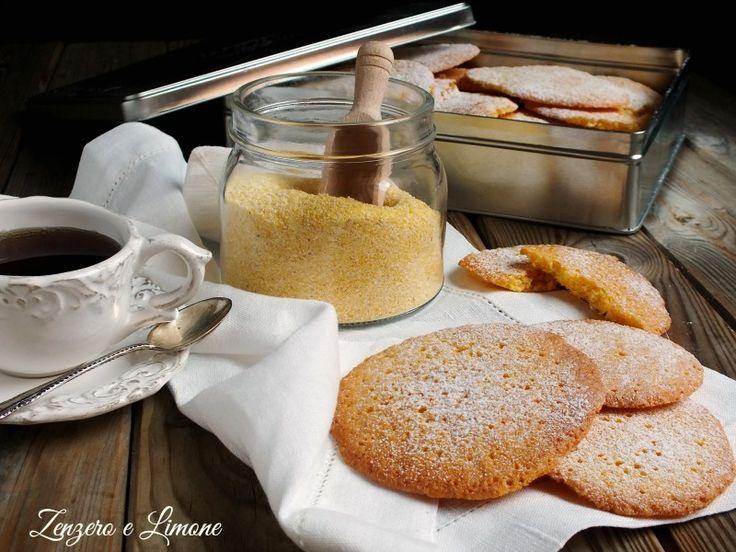Biscotti+con+farina+di+mais