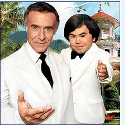 Fantasy Island - De Plane!  De Plane! It was an awesome Saturday night when I got to stay up to watch this after The Love Boat. http://www.liketotally80s.com/2006/11/fantasy-island/