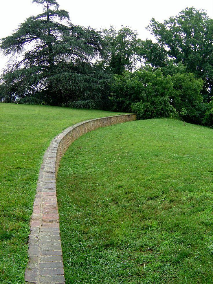 View of ha-ha wall | Knowlton School Digital Library