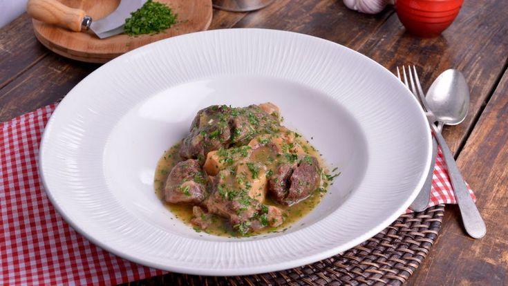Ossobuco a la milanesa (Ossobuco alla milanese) - Matteo de Filippo - Receta - Canal Cocina