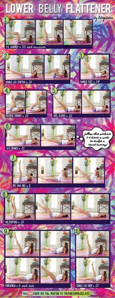 Lower Belly Flattener Printable - Blogilates: Fitness, Food, and lots of Pilates