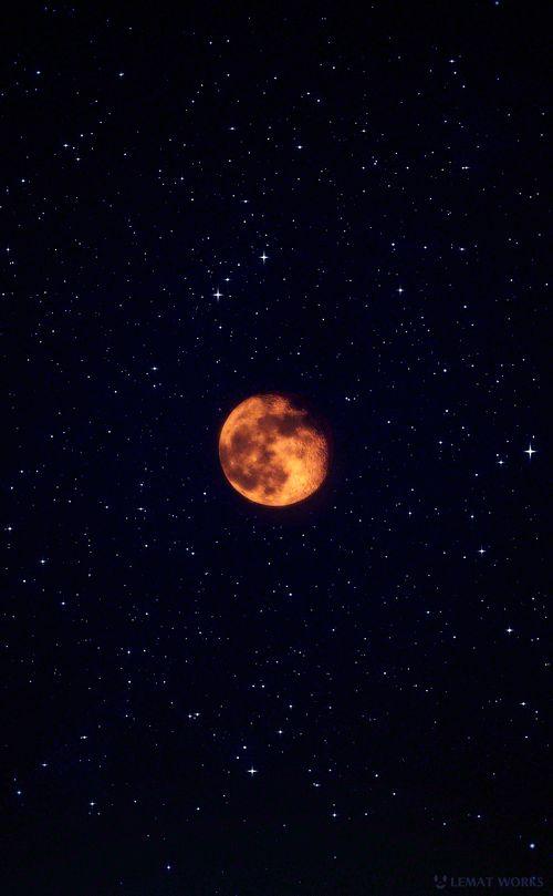 Звезды и луна гифы