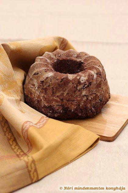 Nóri mindenmentes konyhája: Kakaós kuglóf mindenmentesen (cukor-, glutén-, tejtermék-, tojásmentes, vegán)