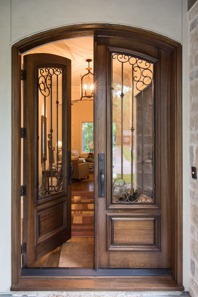 Designed By Diana Walker U2013 Houston Home Designed With A Combination Of  Texas, French And. Unique DoorsSouthwest ...