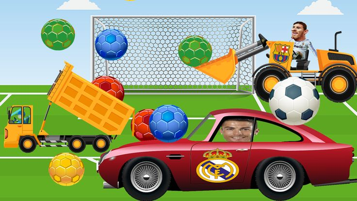 Fun for kids Messi humiliated by Cristiano Ronaldo playing football with cars - Children's Tv Funny  #car #cars_for_kids : https://www.youtube.com/watch?v=vmE3ZURvy9w&index=8&list=PL1X6Mnias5LwDfOMx3ywvIhIP0g5YBMWZ
