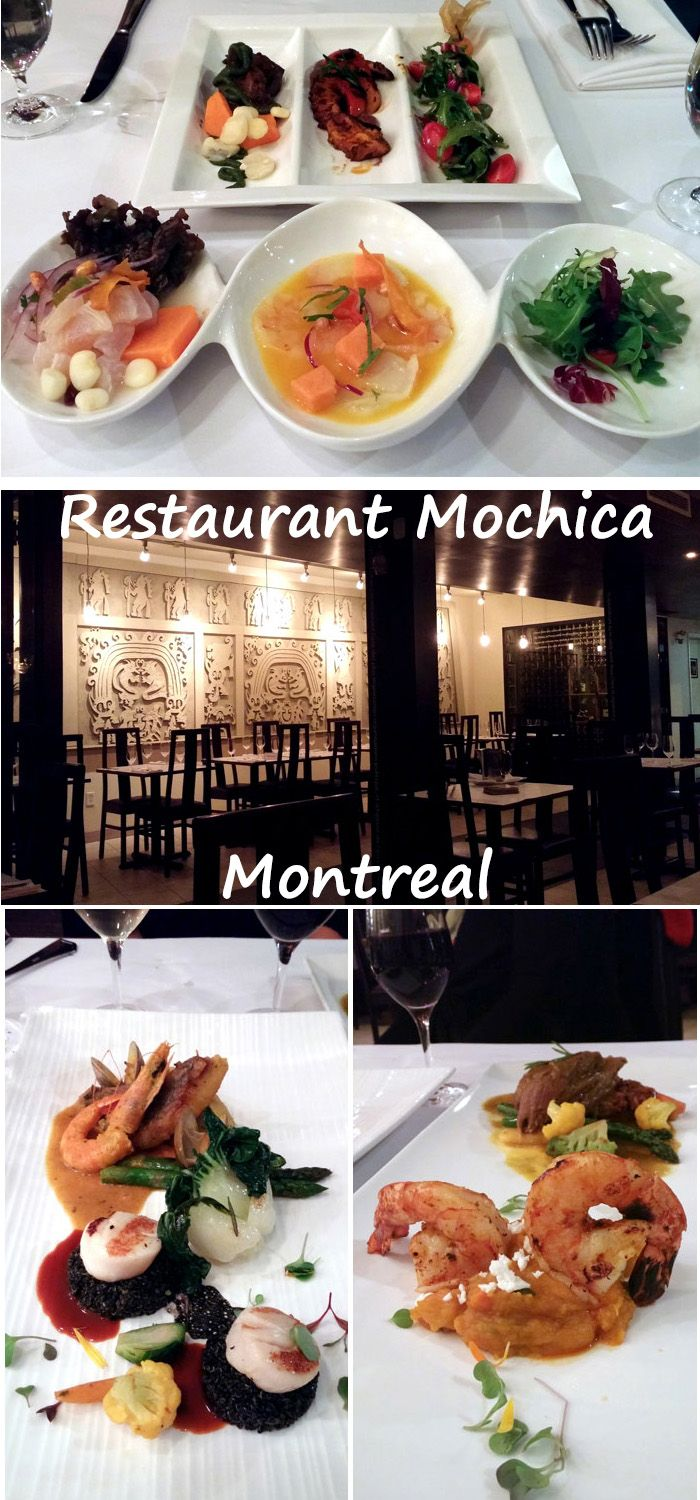 Do you like #ceviche and #seafood ? More delicious plates from #Peruvian  Restaurant #Mochica for #MTLaTABLE? Visit #Montreal