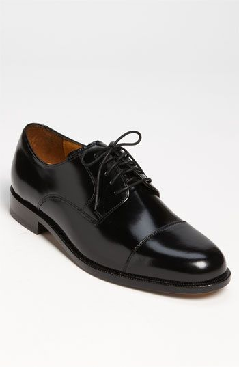 Cole Haan 'Air Carter' Oxford (Online Only) available at #Nordstro -black dress shoes for the groom and groomsmen.