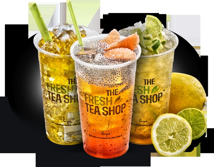 Bubble tea @ Fresh Tea Shop :)
