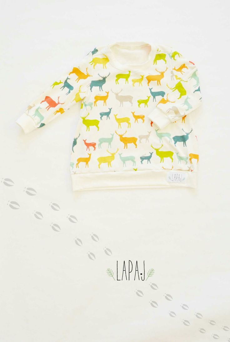 Hoodie for kids Dear  Design by LAPAJ