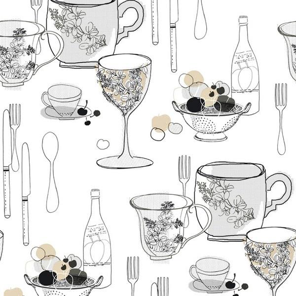 Kitchen Wallpaper Texture 88 best kitchen wallpaper images on pinterest | kitchen wallpaper