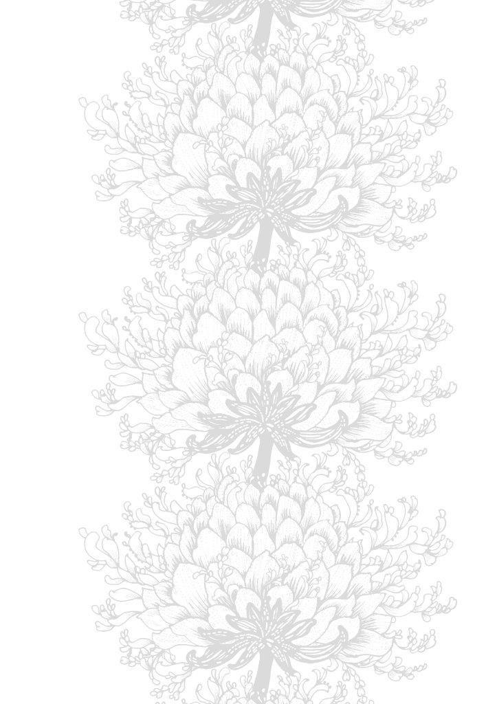 Vallila Interior AW14, Memento Batist white by Tanja Orsjoki