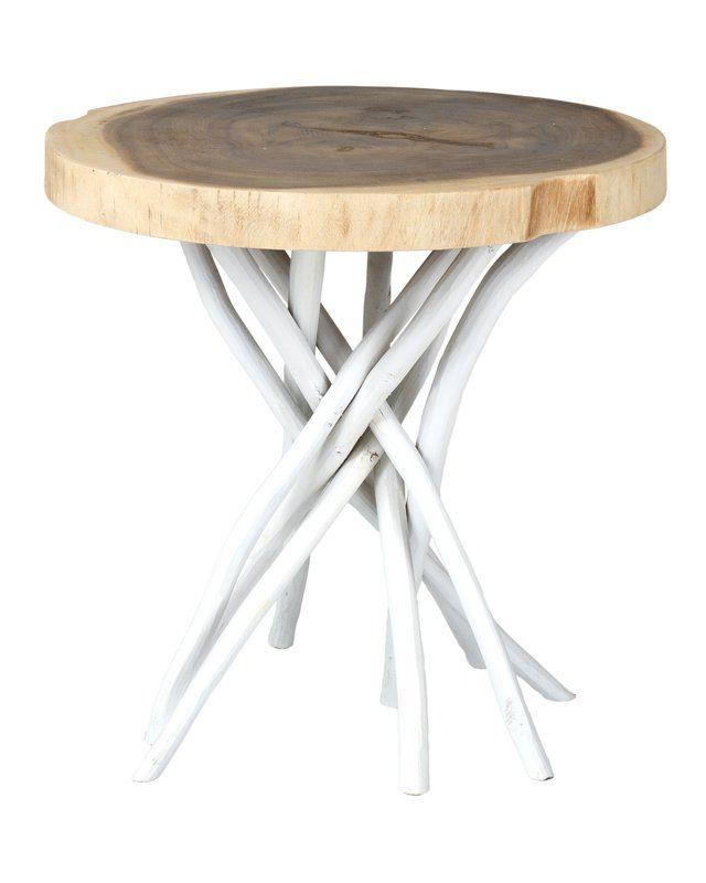 Aloysius Solid Wood Tree Stump End Table Luxury Home Furniture Buy Home Furniture Coffee Table Wood