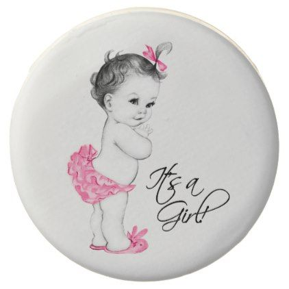 Baby Girl Baby Shower Cookies - girly gift gifts ideas cyo diy special unique