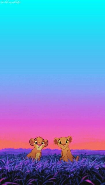 I love love love The Lion King, how cute are these two!