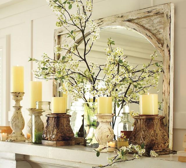 Mantel Arrangements: 17 Best Images About Decorative Branches On Pinterest