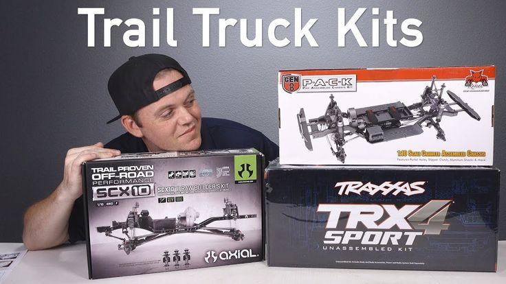 No RTR Here Axial SCX10 II Kit, Traxxas TRX4 Unassembled
