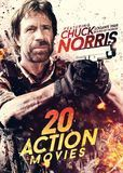 20 Action Movies: Featuring Chuck Norris [4 Discs] [DVD], 29200474