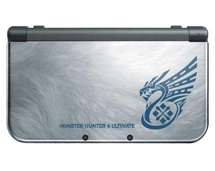Nintendo NEW 3DS XL Monster Hunter 4 Ultimate Edition - GameStop Exclusive Screenshots   GameStop